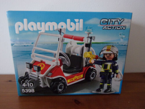Playmobil City Action 5398 Kart Pompier Neuf et Emballage D/'Origine