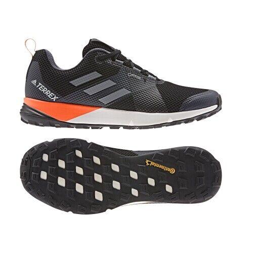 Adidas Terrex Two GTX Sie Herren TrailLaufenschuh core schwarz grau sorang
