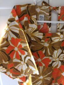 Vintage-Cathay-Fashions-San-Fransisco-Women-039-s-Wrap-Around-Artist-Smock-Apron