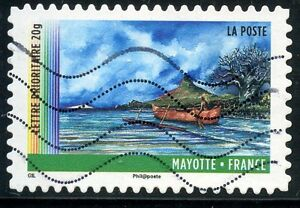 TIMBRE-FRANCE-AUTOADHESIF-OBLITERE-N-644-ANNEE-DES-OUTRE-MER-MAYOTTE
