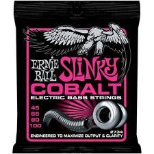 Ernie Ball Cobalt Basso 2734 Super Slinky 4 - Corda cordoncini 45 - 100