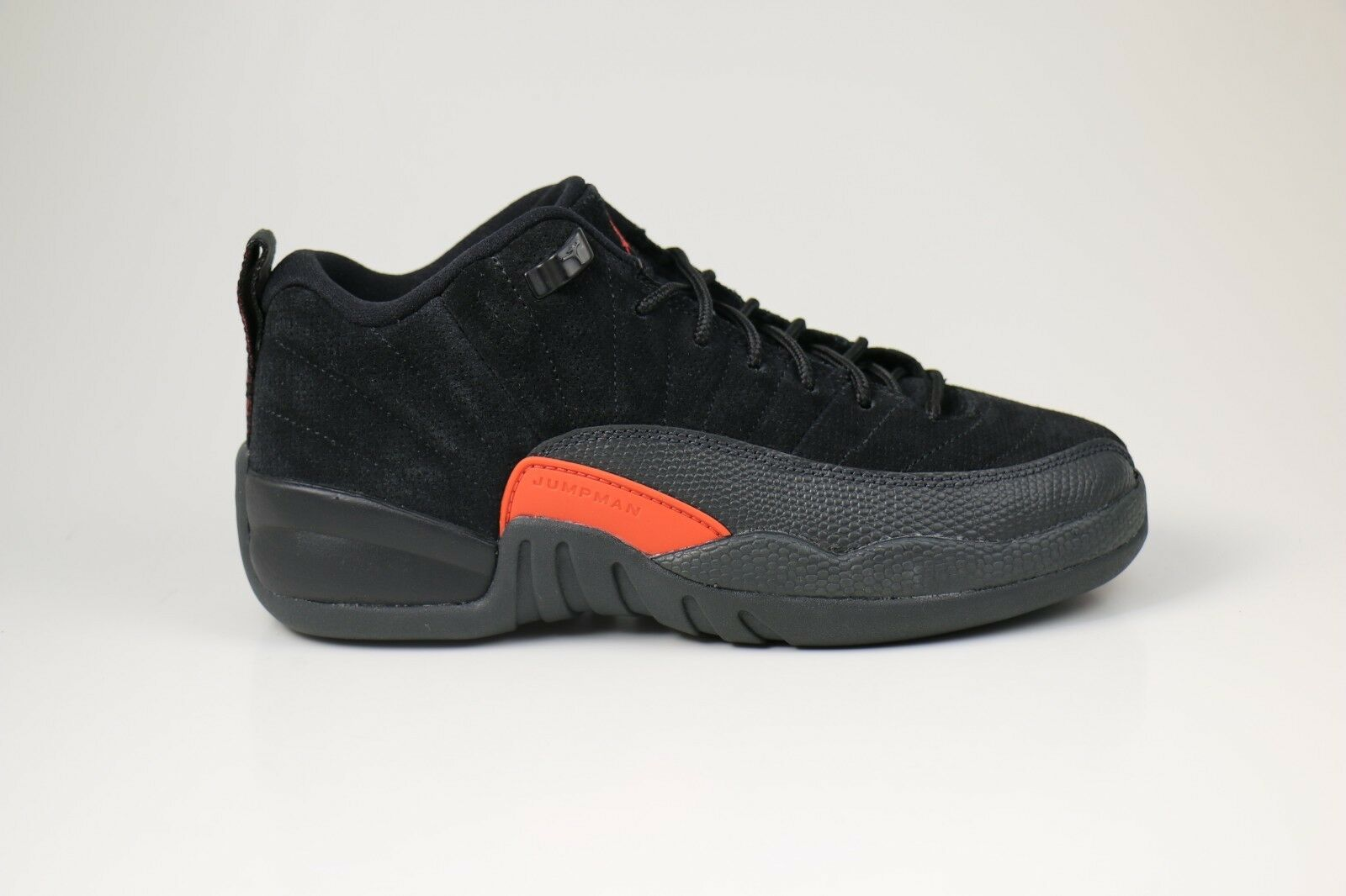 Nike Air Jordan 12 Retro Low BG Noir US US US Max Orange EUR 38 US Noir 69751b