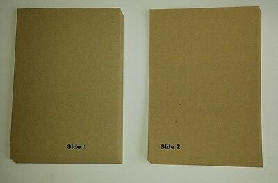 A4 Natural 100% Recycled Brown Kraft Craft Card 280gsm - Weddings, Invitations