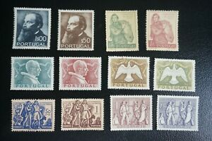 PORTUGAL-1951-COMPLETE-YEAR-5-SETS-MNH