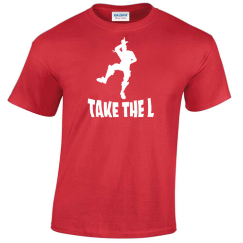 Kids Boys Girls Take The L Inspired T-shirt cool dance Tee Gift