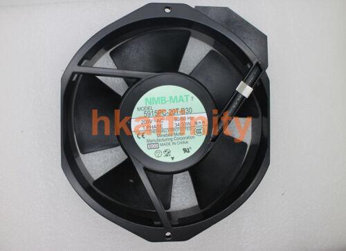 NMB 5915PC-20T-B30 Ventilateur de refroidissement 172x150x38mm AC 200 V 5915PC20TB30B00