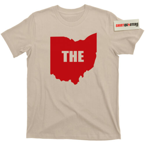 The Ohio State footbal Big 10 Ten OSU University of Michigan rivalry Tee T Shirt
