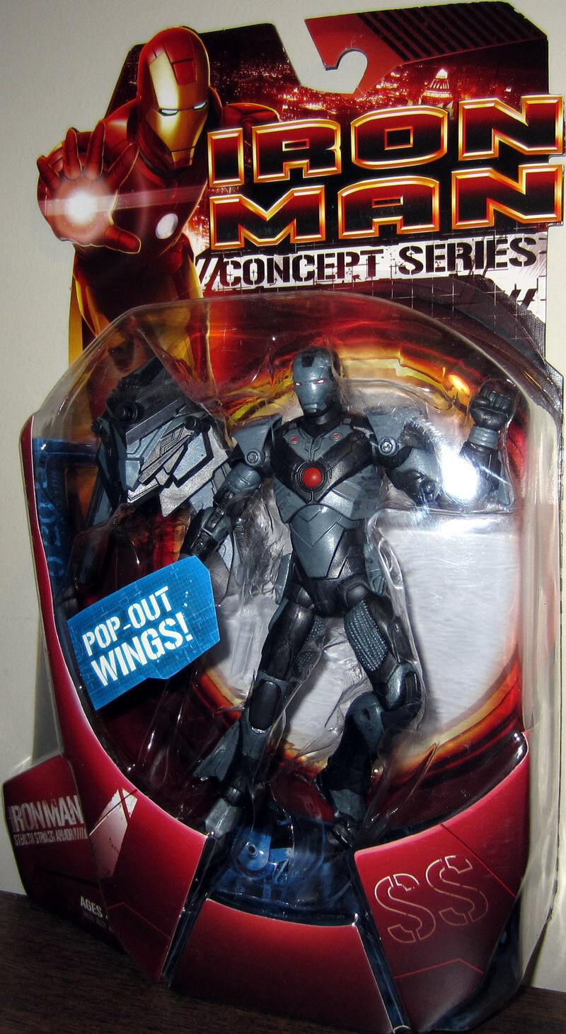 Iron Man Movie Collection __ Stealth Striker Armadura Iron Man 6  Figura de Acción __ Menta en paquete