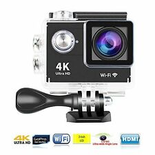 PRO CAM 4K SPORT ACTION WIFI DV CAMERA ULTRA HD 16MP VIDEOCAMERA SUBACQUEA 30 MT