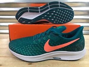 da823a4dbe52 Nike Air Zoom Pegasus 35 Running Shoes Geode Teal Green Mango SZ ...