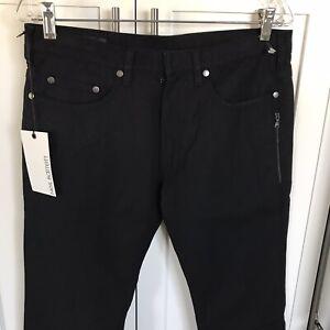 Neil Barrett Para Hombre Nuevos Pantalones Jeans Ajustados Elastizados 32 Ebay