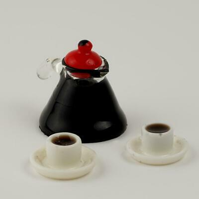4PCS//Set Dollhouse miniature drinking glass set in Doll House 2 1:12 DIY De X5S6