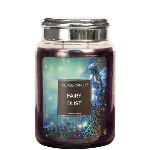Village Candle double Mèche Large Candle Jar-Fairy Dust