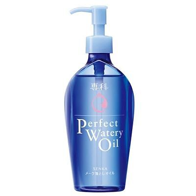 SHISEIDO JAPAN HADA SENKA PERFECT WATERY OIL 230ml makeup remover