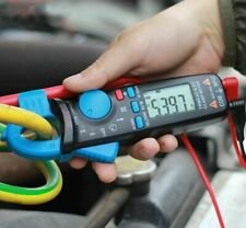 Current Clamp Meter Ammeter 1ma Plier Rms Digital Multimeter Dc Ac Current Volt