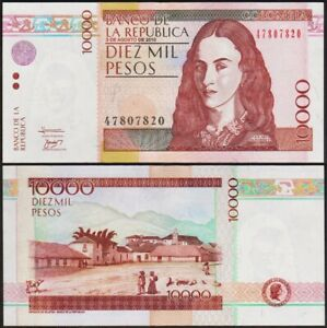 10000-PESOS-2010-COLOMBIE-COLOMBIA-NEUF-UNC-P453n