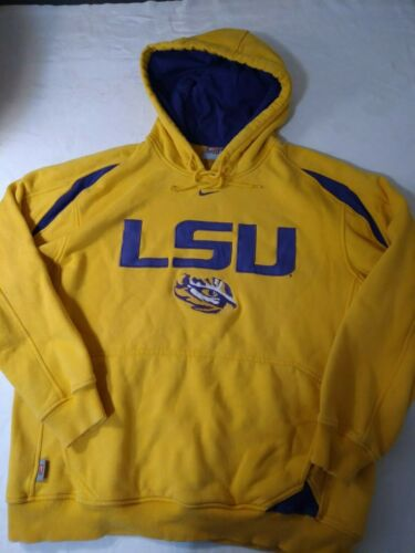 Vintage Nike LSU Tigers Center Swoosh Hoodie