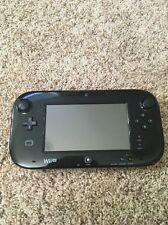 Nintendo Wii U Black Replacement Gamepad Wireless Controller Tablet - NEEDS FIX!