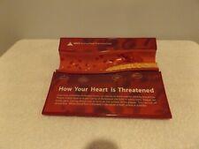 Vintage Artery Cross Section Anatomical Model Atherosclerosis Cholesterol