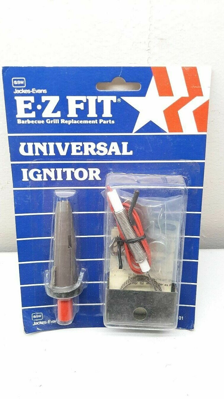 Jackes-Evans Gas Grill Universal Spark Ignitor Fits Most Grills