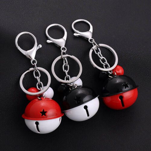 Cute Candy Color Anti-theft Bell Key Ring Chain Accessories Pendant Gift