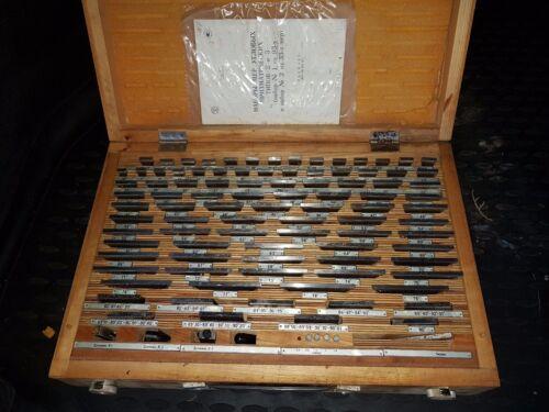 Grade 1 Made in USSR!NEW! 93 pcs, Massa16 kg! Precision Angle Gauge Block Set