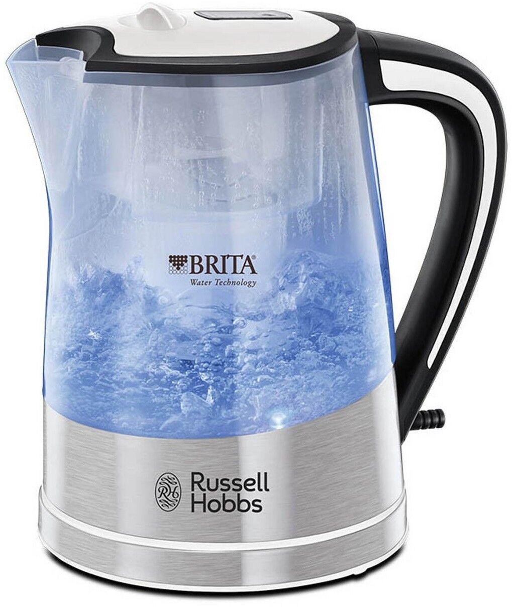 Hobbs 22851 Purity Brita Filter Clear Plastic Kettle