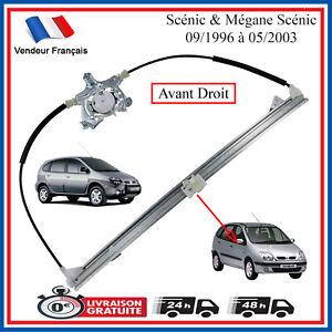 Mecanisme-de-Leve-Vitre-Avant-Droit-Renault-Scenic-1-Phase-1-amp-2-7700838591