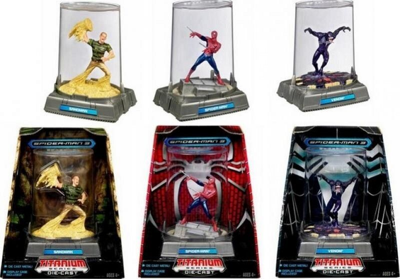 Marvel - comics' spider - man 3 - serie gift sandmann spider - man