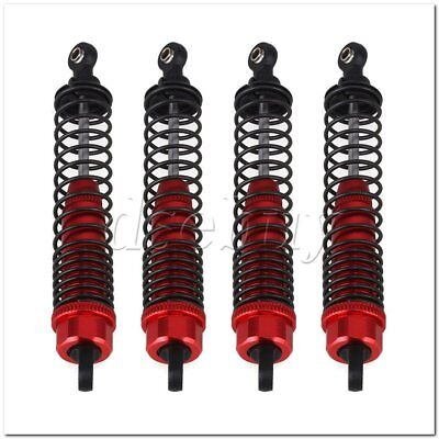 4PCS Red Aluminum Alloy 108004 Red Shock Absorber For HSP RC1:10 Trucks Car