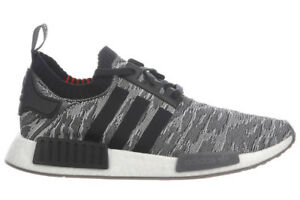 0158104107f2 NEW Adidas NMD R1 Primeknit CQ2444 Men s Original Grey Running Shoes ...