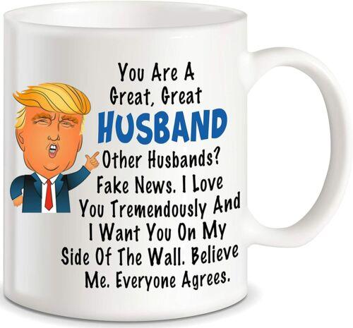 Donald Trump Terrific Husband Funny Coffee Mug 11oz  Best Anniversary Birthday