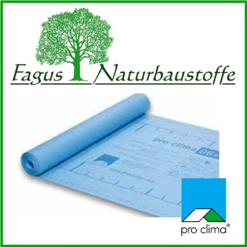 Dampfbremse pro clima DB+ 105 cm 52,5 m²//Rolle 2,12 €//m² diffusionsoffen