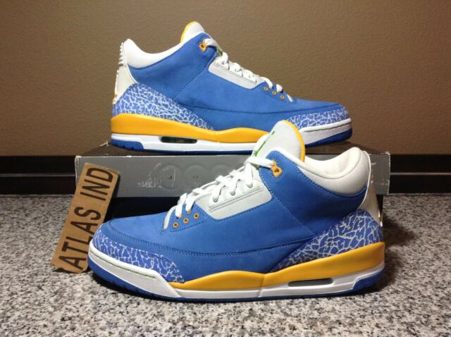 c3f125398b3165 Nike Air Jordan 3 Retro LS Do The Right Thing DTRT 2007 Size 12 for ...