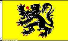Flanders Lion 5ft x 3ft Flag Banner BRAND NEW