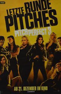 PITCH-PERFECT-3-A3-Poster-42-x-28-cm-Film-Plakat-Clippings-Sammlung-NEU