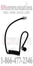 Surveillance Acoustic headset Mic Tube Black Motorola Earpiece CP200 CP150 CP110