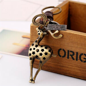 Vintage-Cowhide-Keychain-Creative-Punk-Jewelry-Hand-Made-Unisex-Backpack-Pendant