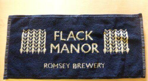 NEW FLACK MANOR ROMSEY BREWERY BEER ALE BITTER PUB HOME BAR DRINKS DRIP TOWEL