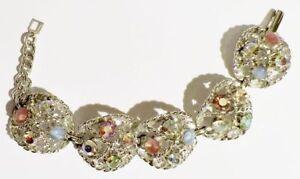bracelet-bijou-vintage-couleur-or-blanc-cristaux-borealis-cabochon-qualite-3221