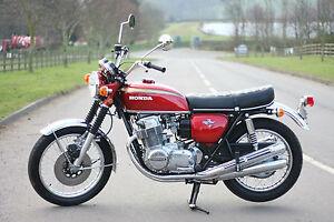Image Is Loading Honda CB750 CB 750 K1 1971 Candy Ruby