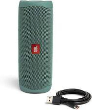JBL Flip 5 Portable Waterproof Bluetooth Speaker Eco Green 90% Recycled Plastic