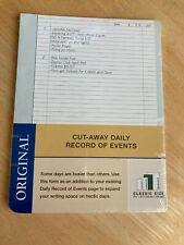 Original Cut Away Record Of Events Classic Size 5 12 X 8 12 Nip