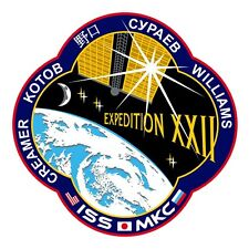 Framed Print - ISS Expedition XXII Mission Patch/Badge/Insignia Picture NASA ART