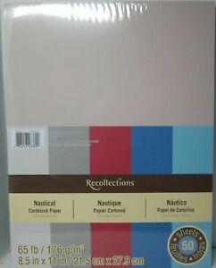 Recollections-Cartulina-Papel-8-1-5-1cm-x-27-9cm-50-Hojas-de-29-5kg-5-Color