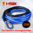 Dyneema SK75 Winch Synthetic Rope, Cable 10mm x 35m for 4WD, 4x4, Boat Offroad