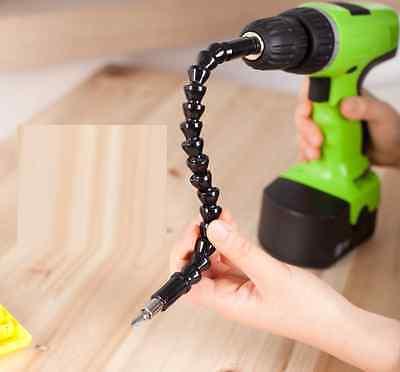 "12"" Flexible Extention Screwdriver Drill Bit Holder  Free shipping"