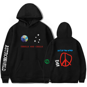6ed60551e71e Image is loading Travis-Scott-Astroworld -THRILLS-AND-CHILLS-Hoodie-Sweatshirt-