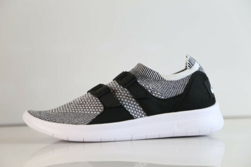 Nike Womens Air SockRacer Flyknit Black White 896447-002 5-10 sock racer 1