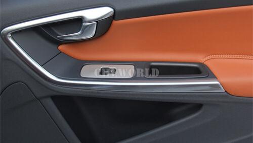 Innen Auto Tür Armlehne Fenster Schalter Zierleisten Für VOLVO XC60 2009-2015